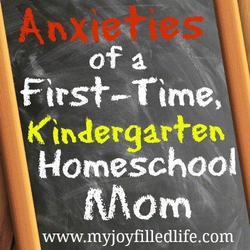 Anxieties of a First-Time, Homeschool Kindergarten Mom